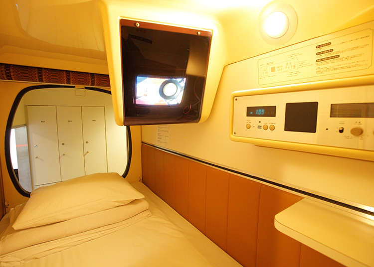 Staying at a Japanese Capsule Hotel