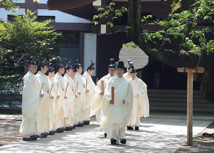 Annual Spring Festival at Yasukuni Shrine 2019