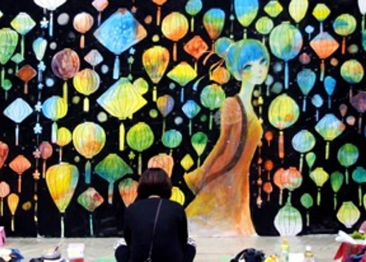 Design Festa - a Massive, Colorful Art Event