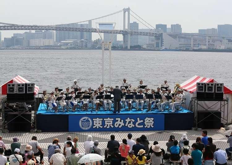 진기한 배를 견학할 수 있는 '도쿄 미나토 마쓰리 축제'