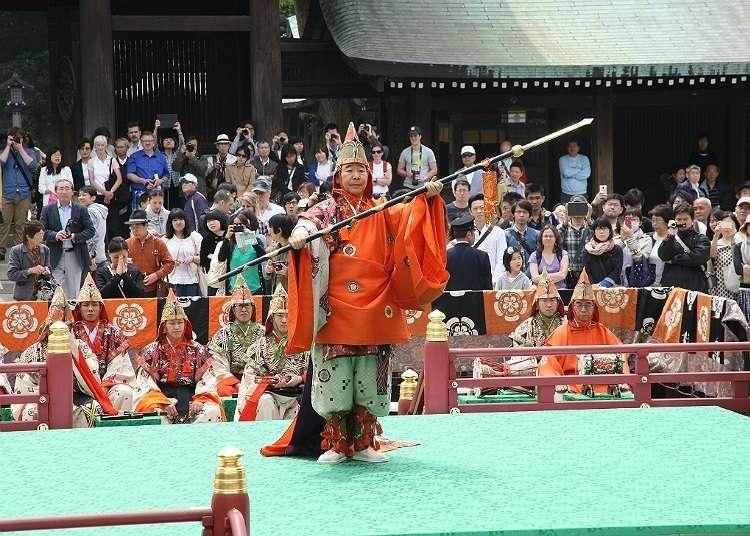 於「明治神宮春之大祭」欣賞傳統藝能