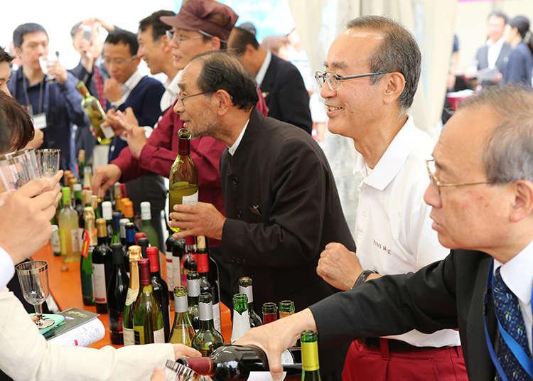 """Festival Nihon Wine MATSURI"""