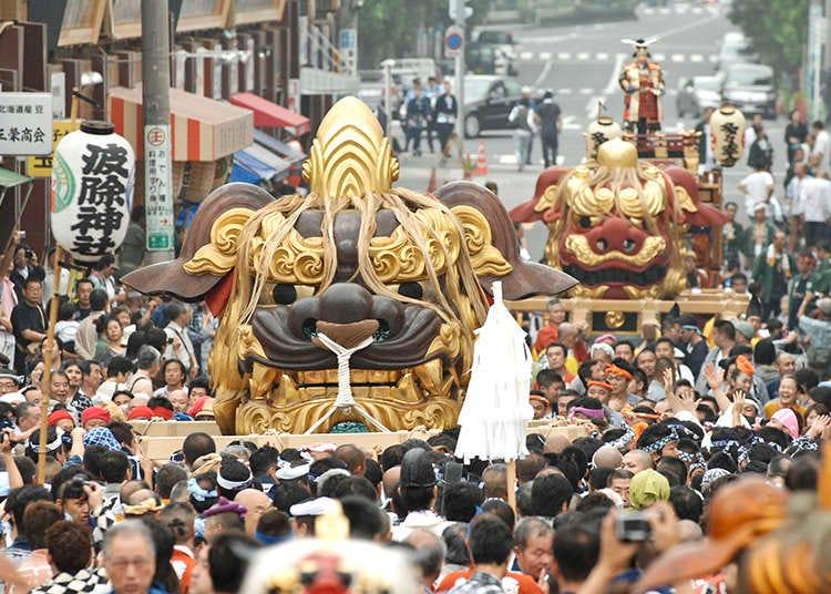 Natsu Matsuri (Perayaan musim panas) yang wajib dilihat jika berada di Tokyo