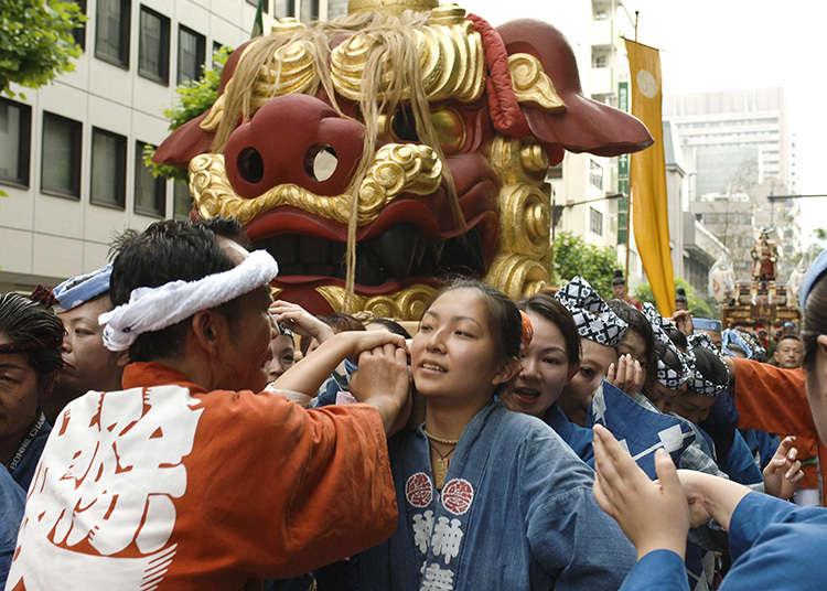 築地獅子祭