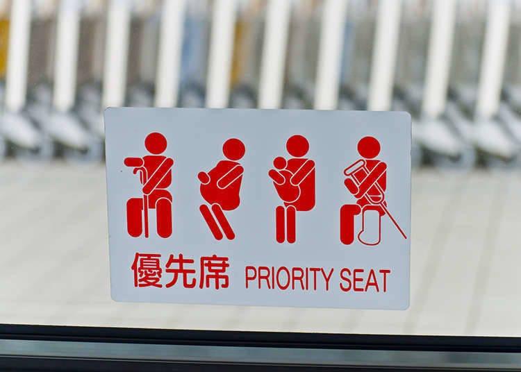 3. Priority seats