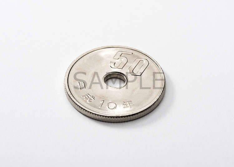 50日元硬币