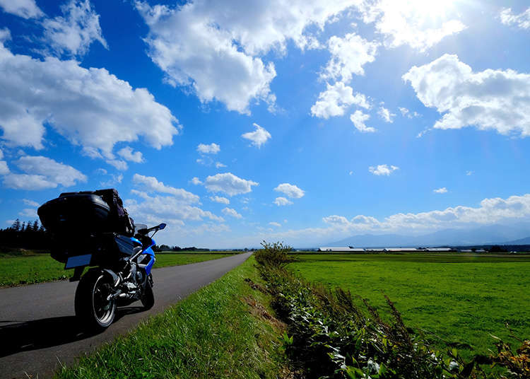 Mengendarai Sepeda Motor di Jepang