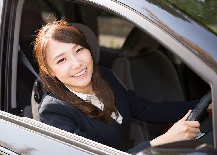 Mengemudi Mobil di Jepang