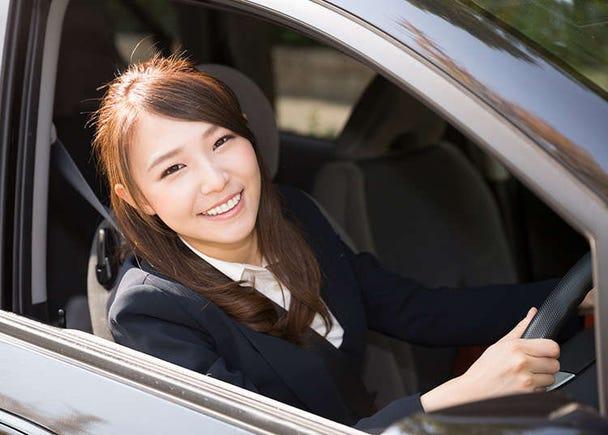 Memandu kereta di Jepun