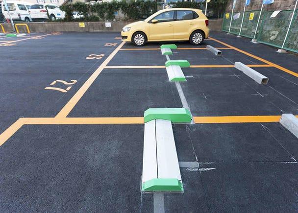 Parkir kenderaan jenis penahan