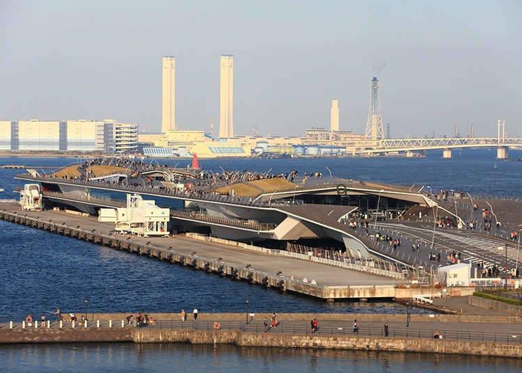 Terminal Penumpang Internasional Osanbashi Yokohama