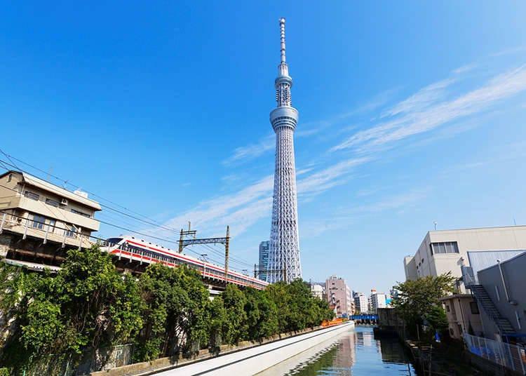 ตั๋วโดยสารแบบ 1 วันโดยโทบุเดนเท็ทสึ (รถไฟของบริษัทโทบุ)