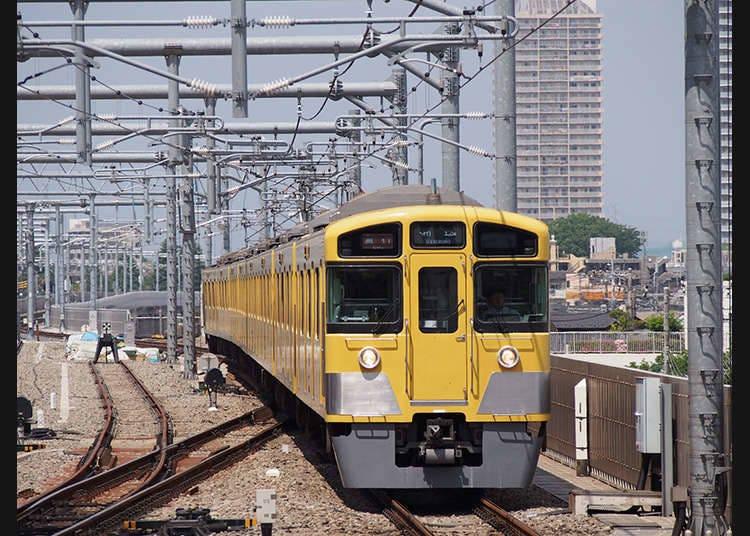 4. Tourist tickets from Seibu Railway