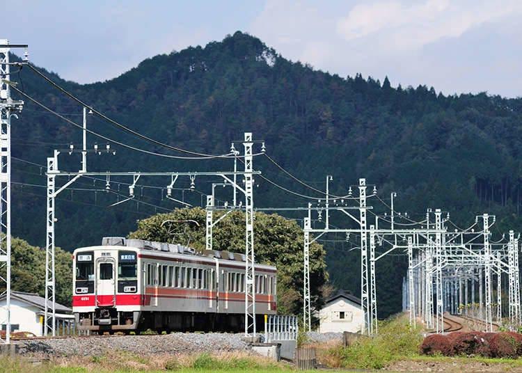 도부 철도의 외국인 승차권