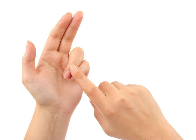 Counting on your fingers