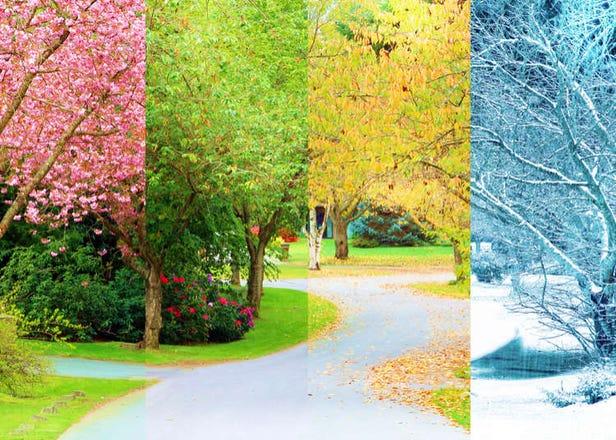 Iklim dan Empat Musim di Jepun