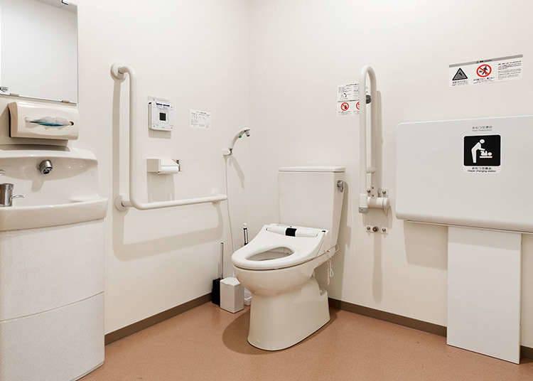 다목적 화장실과 그 이용 방법