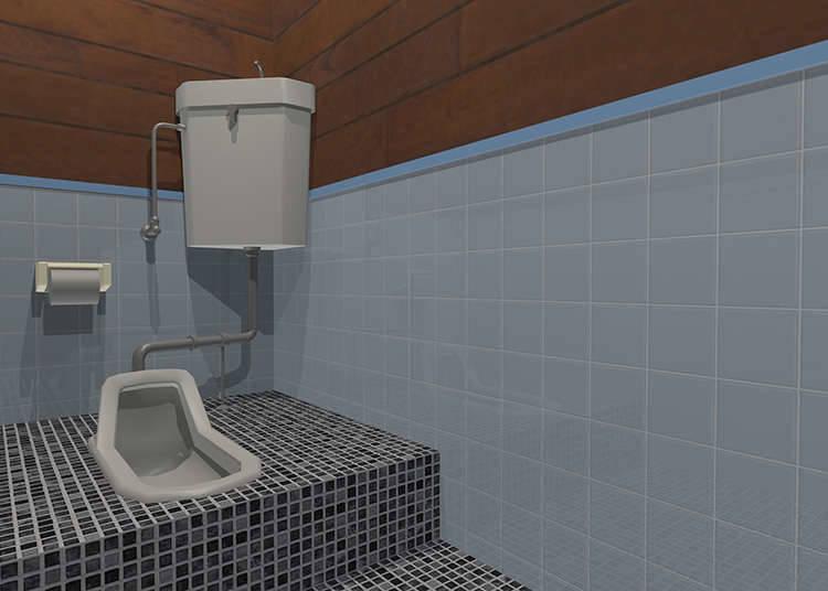 和式廁所的使用方法
