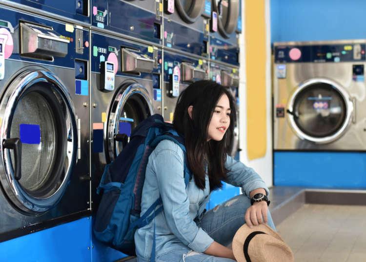 รู้ไว้ก่อนช่างสะดวก! วิธีการใช้เครื่องซักผ้าหยอดเหรียญระหว่าง ท่องเที่ยว