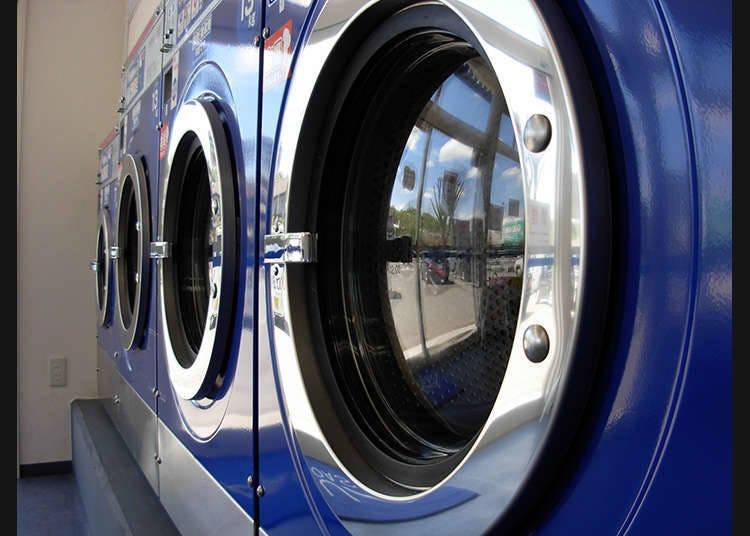 กฎของเครื่องซักผ้าหยอดเหรียญ