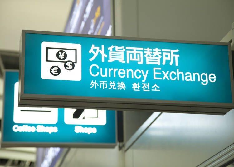 Tanda pertukaran mata uang asing