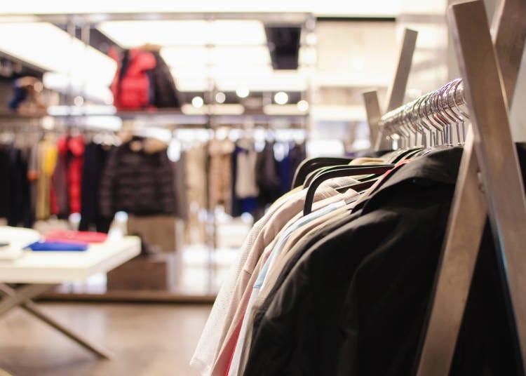 免税サービスが受けられる主な店舗
