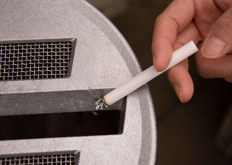 在路上抽菸是不禮貌的