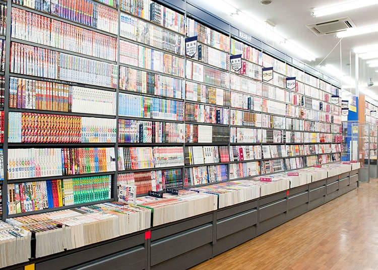Membeli manga di Jepun