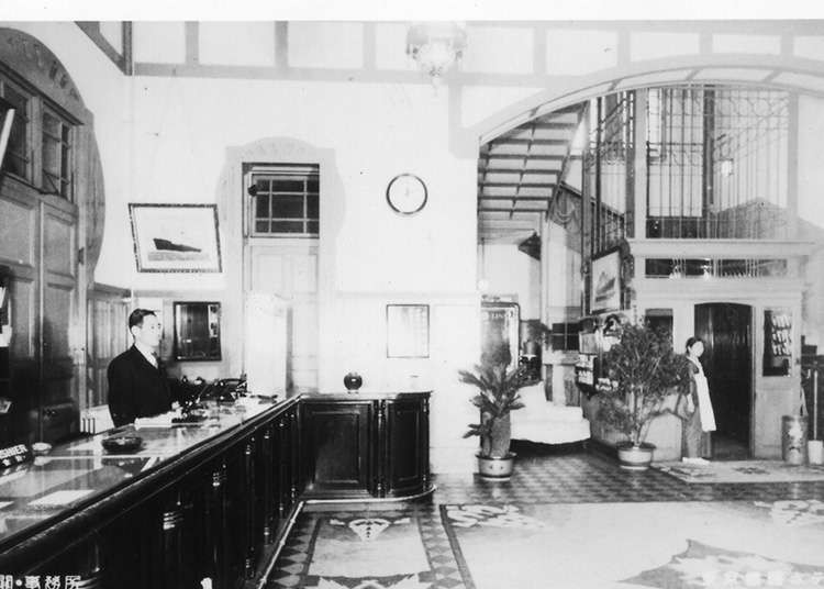 The Opening of the hotel