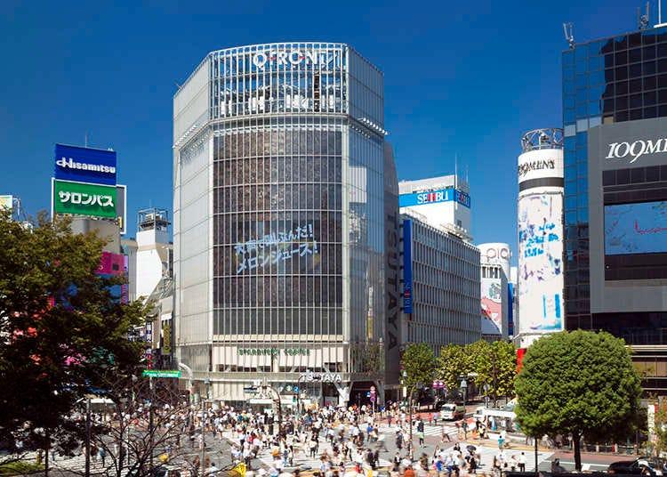 Shibuya dan Harajuku dahulu dan sekarang.
