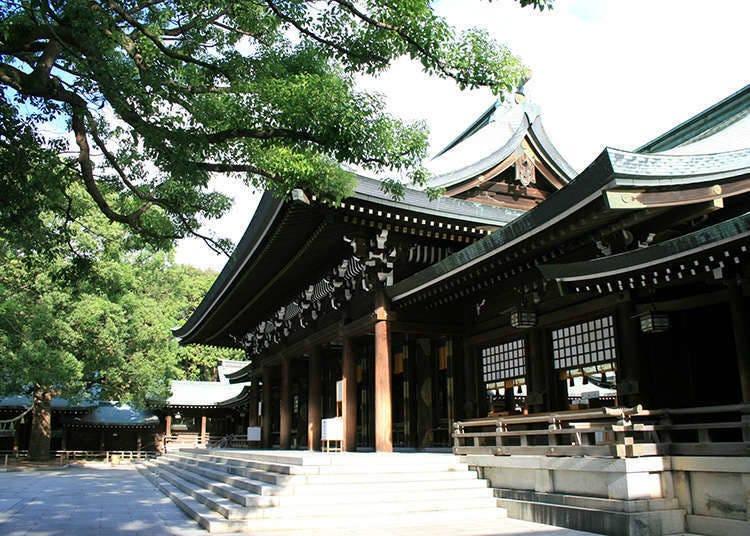 Harajuku, campuran budaya tradisional dan moden.