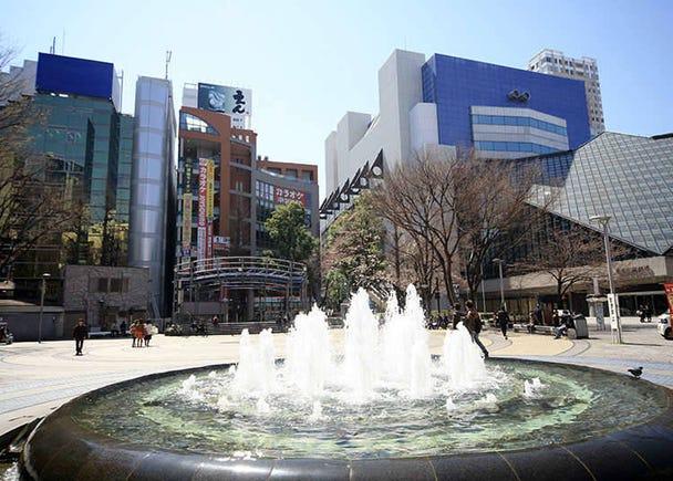 Ikebukuro Station's west exit