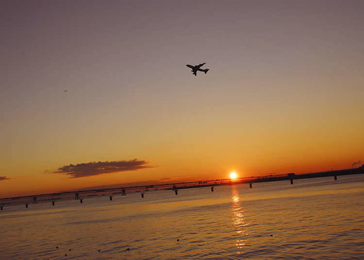 Morning Suggestion 1: Catch the Sunrise at Tokyo Bay!