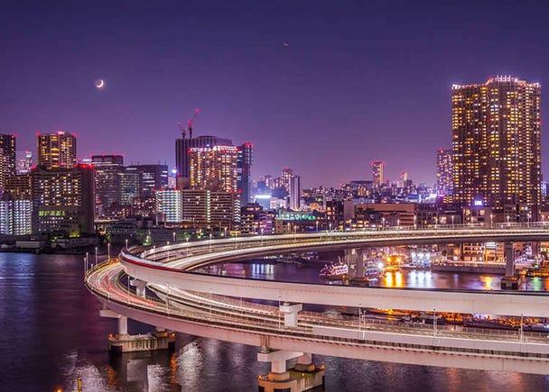 Night Suggestion 1: Enjoy Tokyo's Night Views and Landmarks