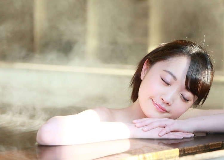 日本的泡澡文化历史和澡堂的使用方法