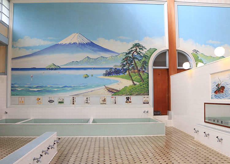 Experiencing Common People's Bath Culture in a Sento