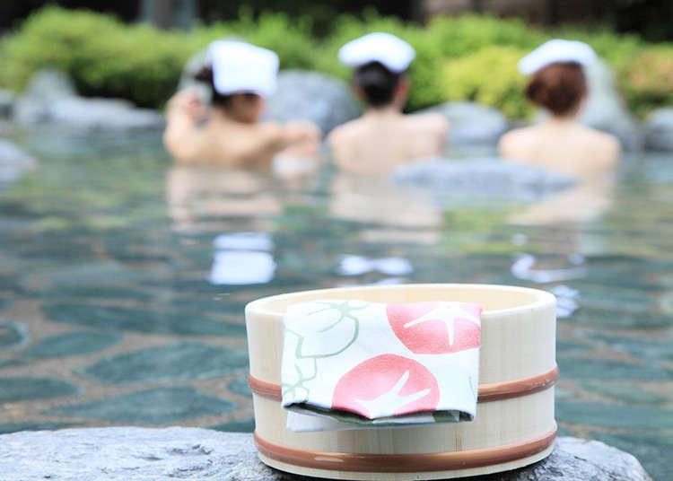 日本澡堂文化大公開⑤泡澡的禮節「Kake湯」