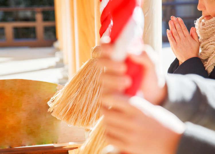 일본 신사와 절의 예절과 차이점