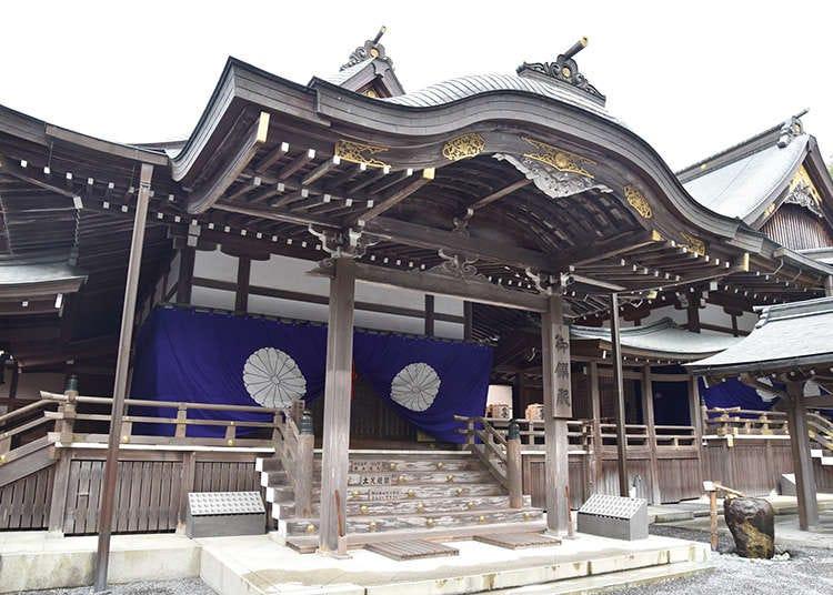Senibina kuil di Jepun