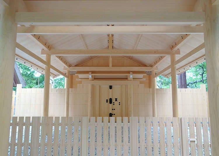 """日本最古老的建筑结构""""大社造"""""""