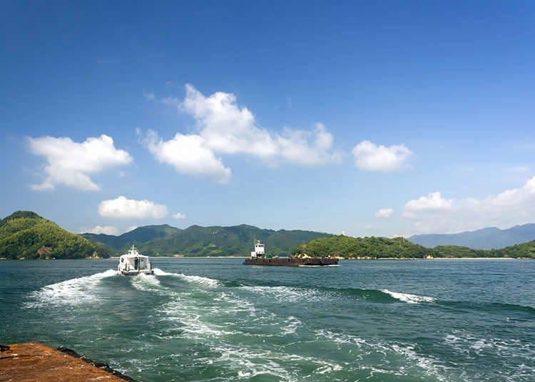 The seas around Japan
