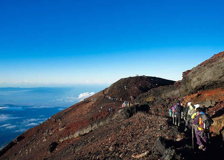 후지 산과 환경 문제