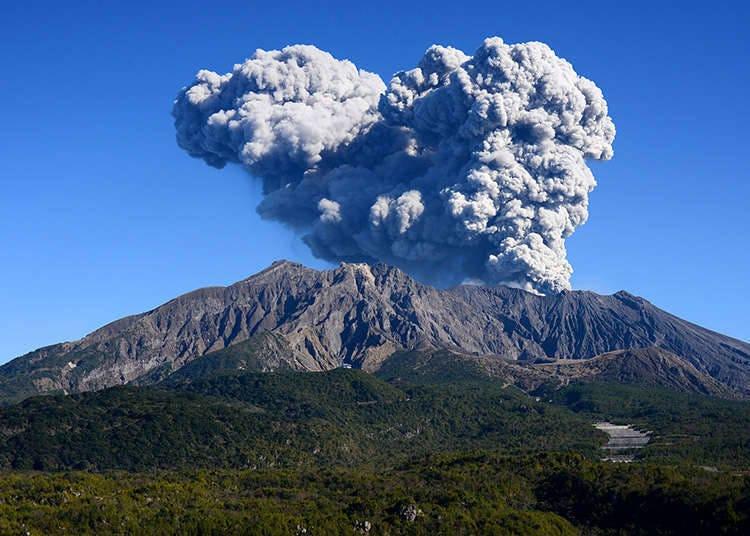 Jepun, negara yang banyak gunung berapi