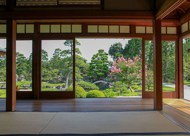 Shoin-zukuri garden