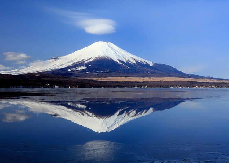 후지 산이 보이는 풍경