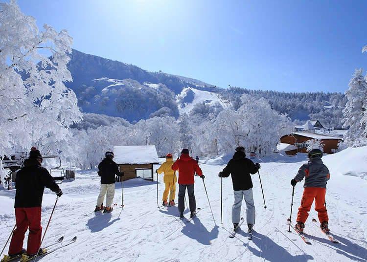 Menikmati Ski dan Air Panas
