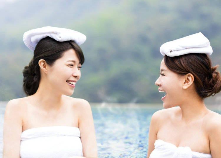 3. 在澡堂和溫泉裡悠哉泡湯