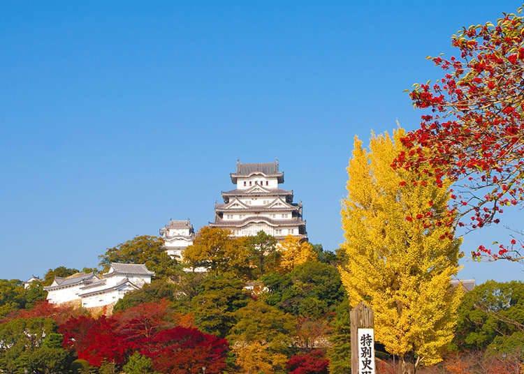 Keindahan istana di Jepun