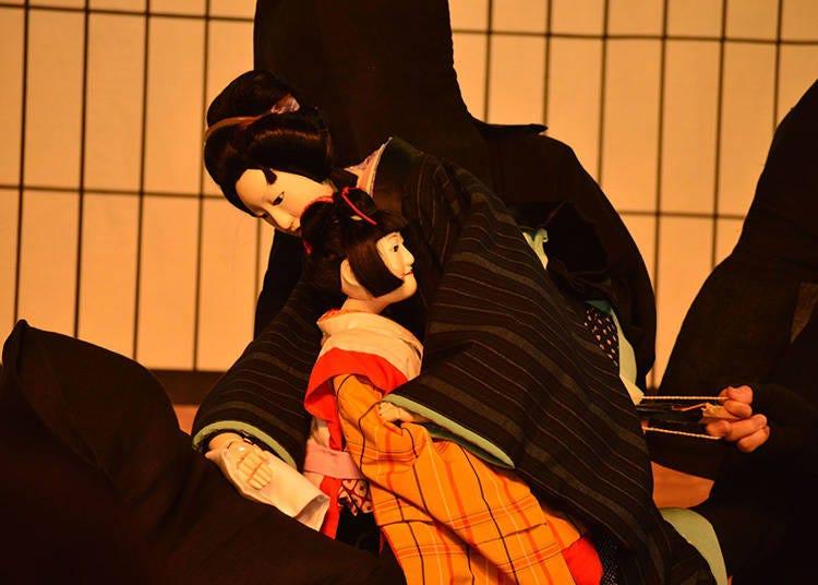 人形浄瑠璃の演目