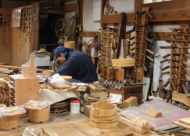 Applying Geidō: Traditional Crafts